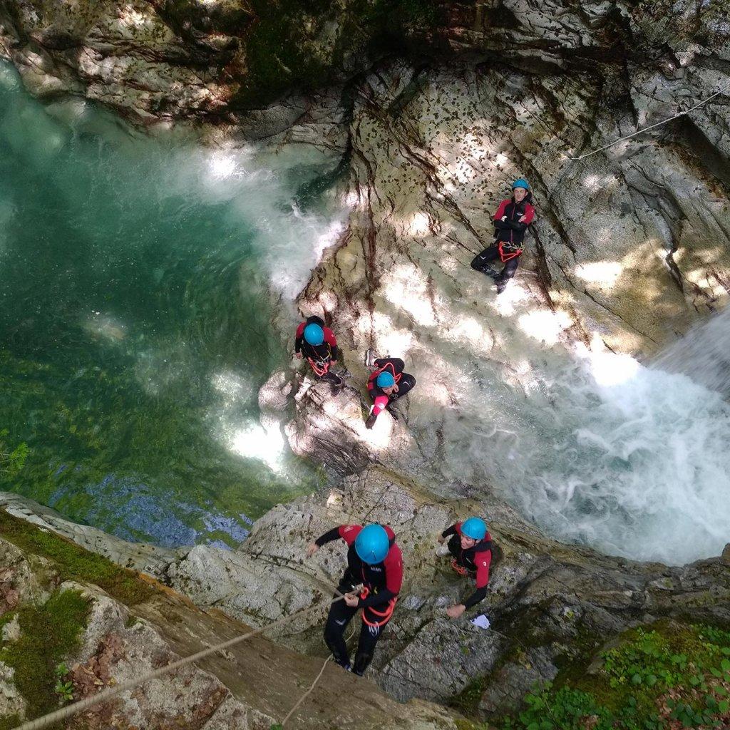 Rappel dans le canyon de Bious-Artigues (à 1h du Pays Basque)