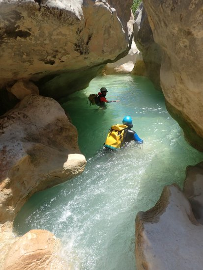 Canyoning en sierra de guara - Espagne