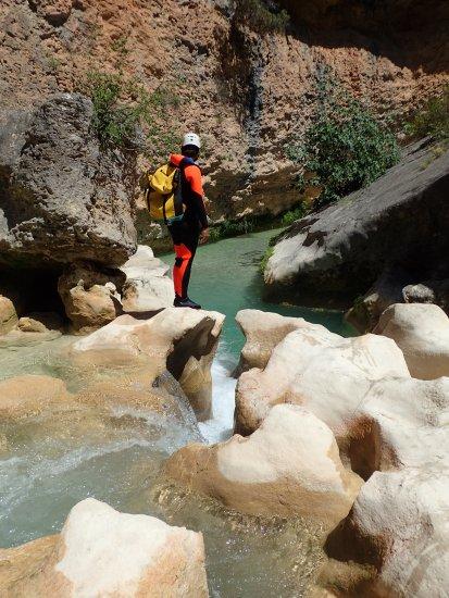 Canyoning en sierra de guara - Pyrénées