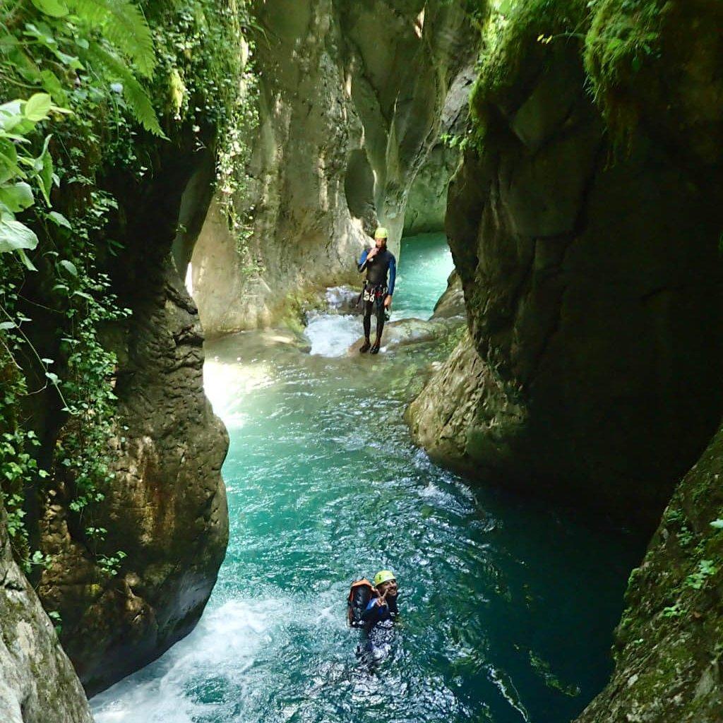 Canyon du Bitet à Artouste (Pyrénées)