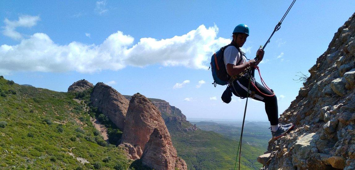 Escalade à Riglos en Aragon
