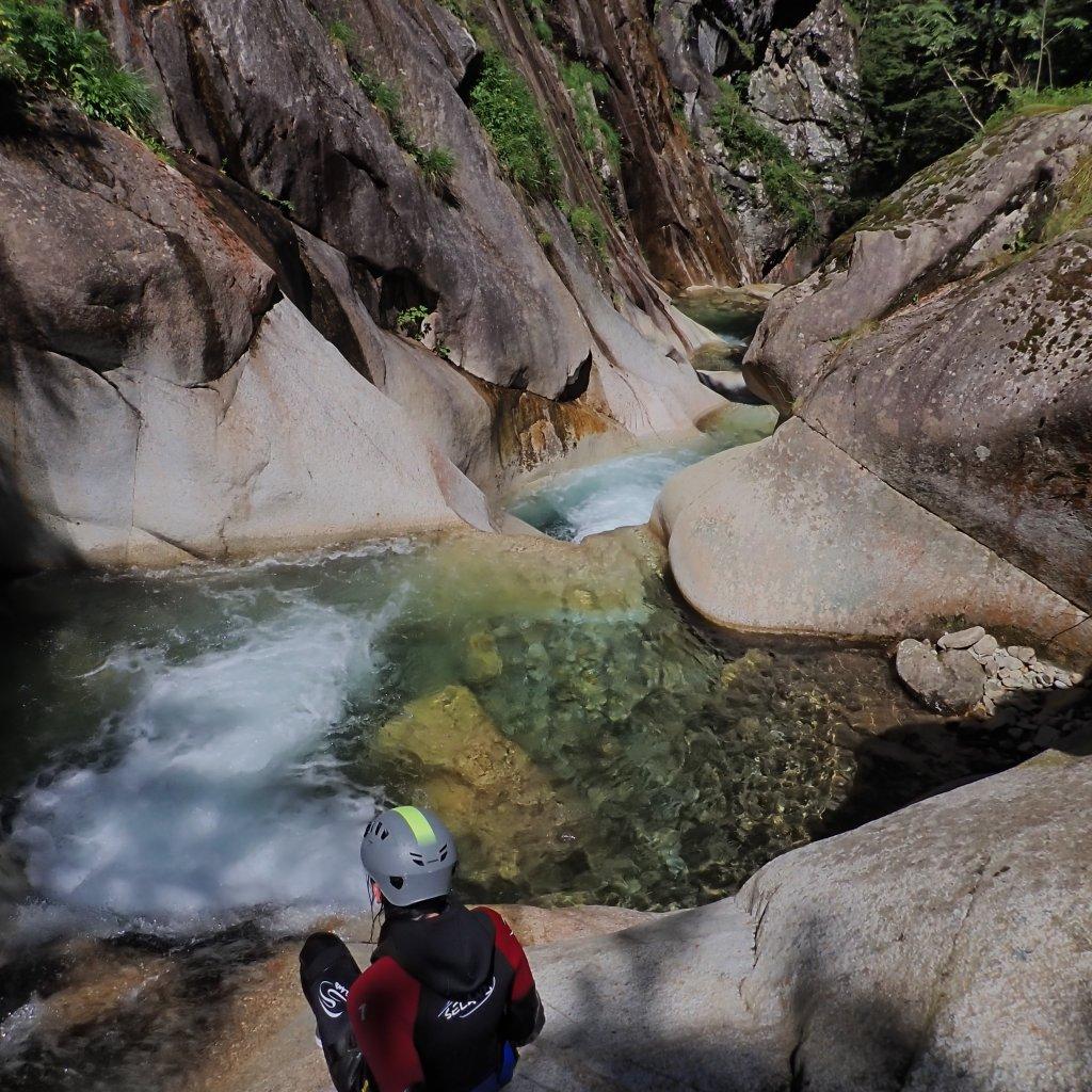 Canyoning du Soussouéou à Pau