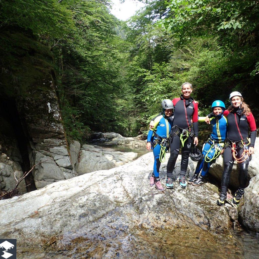 Séjour montagne en famille dans le canyon de Bious