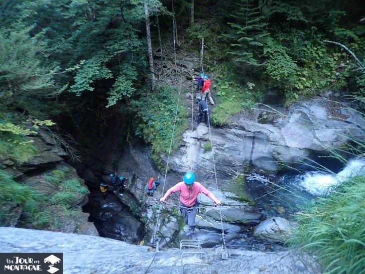 Via ferrata du Siala à Gourette dans les Pyrénées