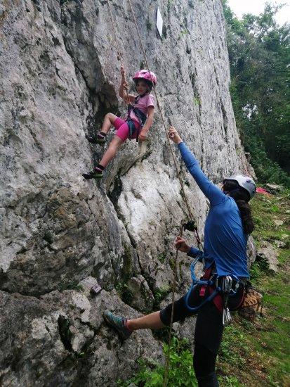 Escalade à Arguibelle en vallée de Barétous (64)
