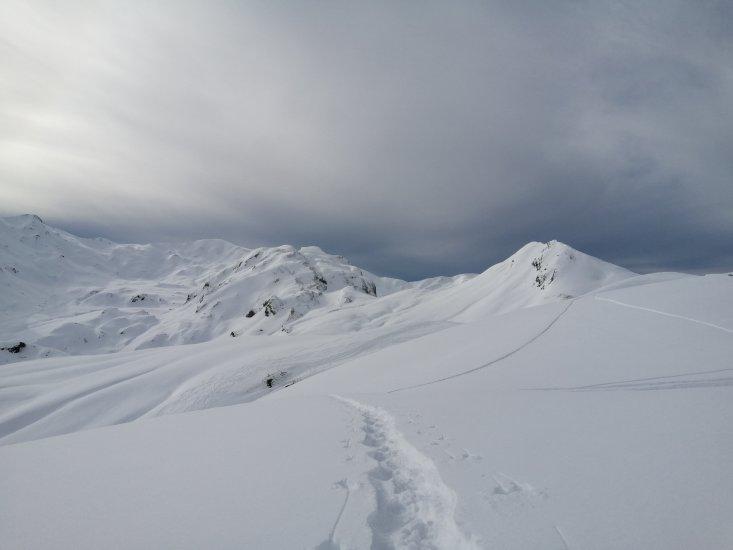 Cirque d'Anéou enneigé- vallée d'Ossau