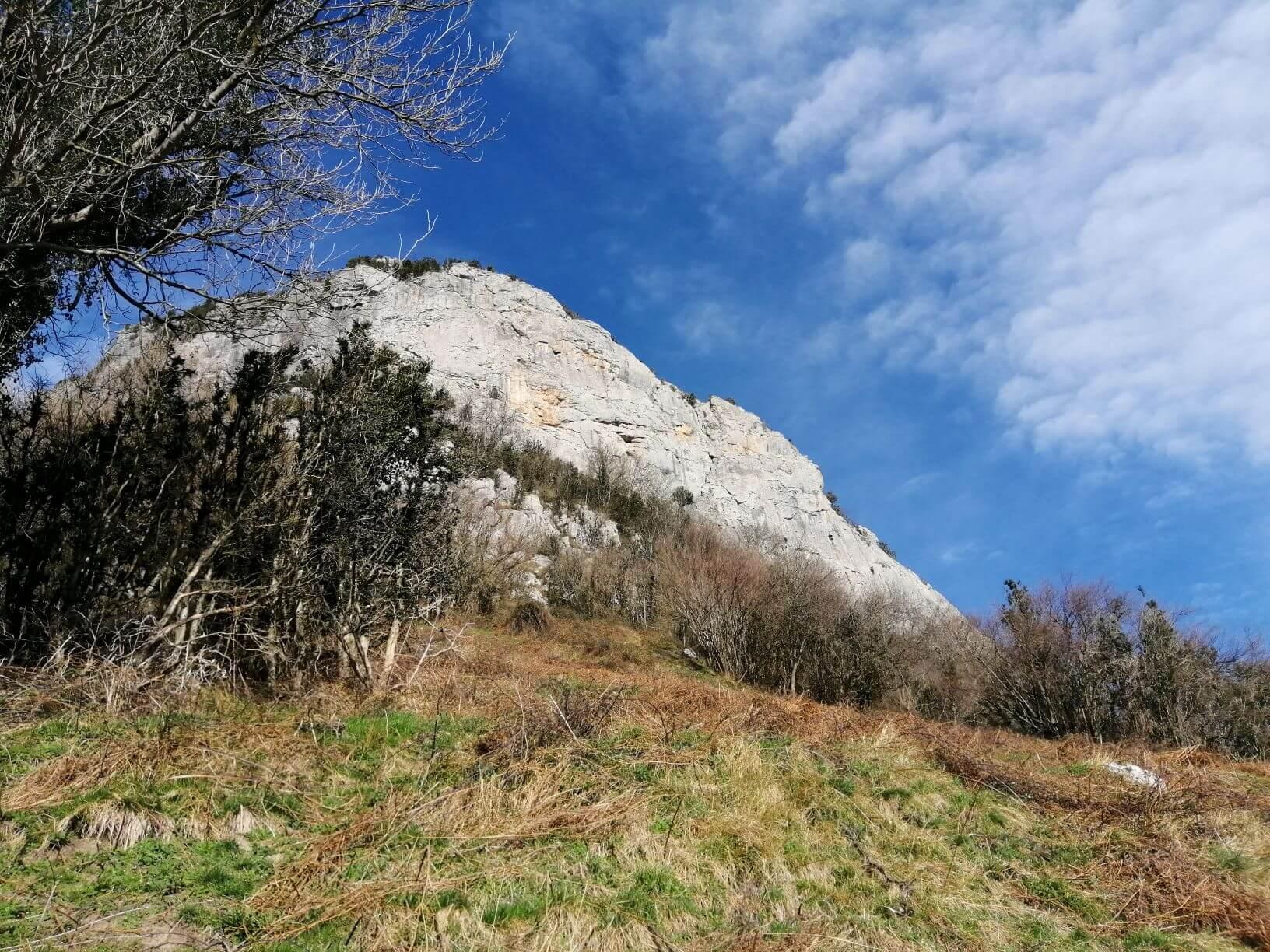 Secteur Perconoptère falaise d'escalade d'arguibelle
