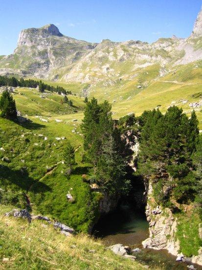 Canyon Cap de Pount - vallée d'Ossau